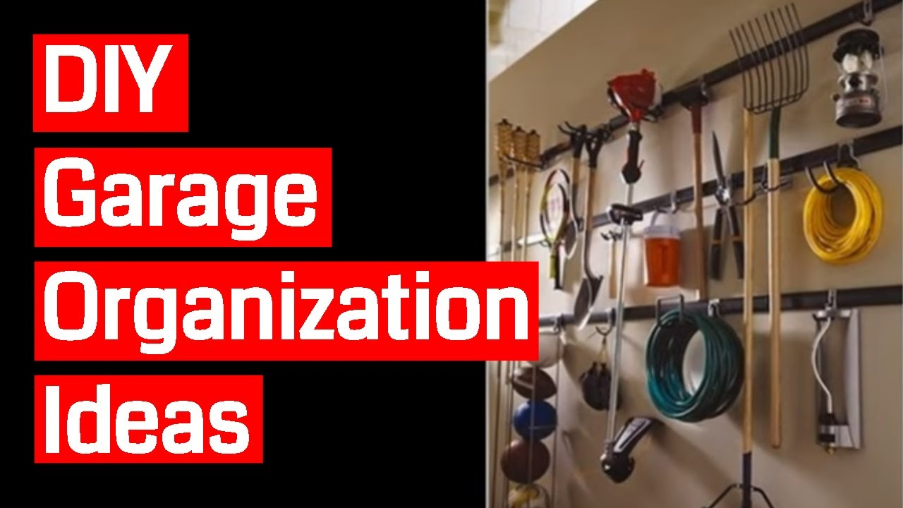 hints and tips diy garage organization storage ideas