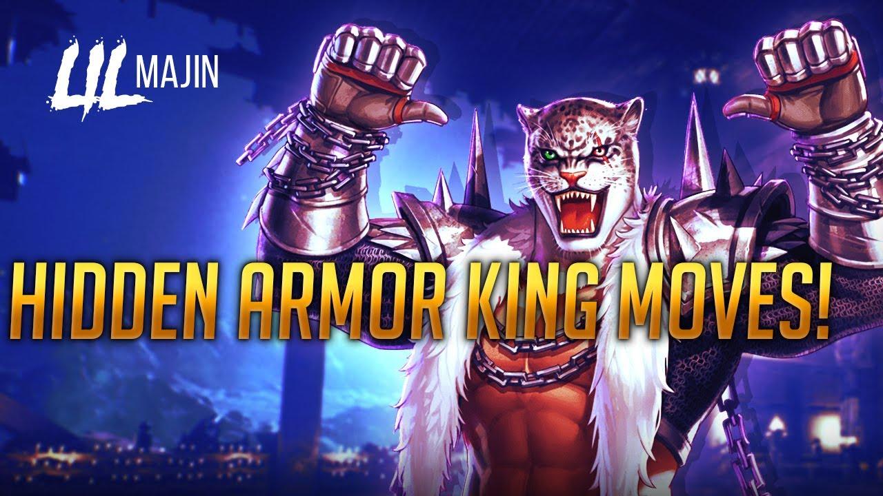 Tekken 7 Armor King Hidden Moves Youtube