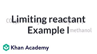 Limiting Reactant Example Problem 1