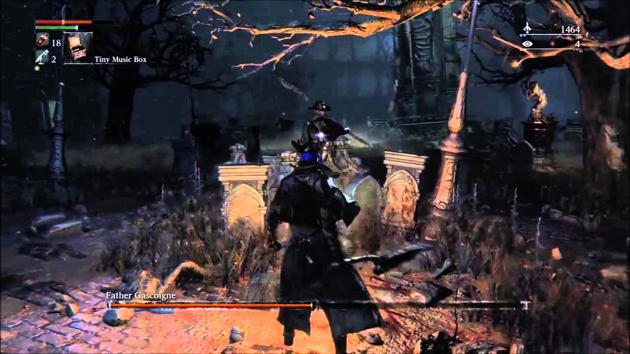 Bloodborne] Father Gascoigne (Second boss) Easy Tactic - YouTube