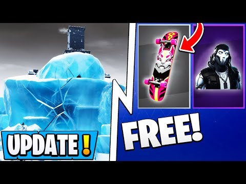 *NEW* Fortnite 9.10 Update!   15 Free Items, Polar Peak Event, All Skins!