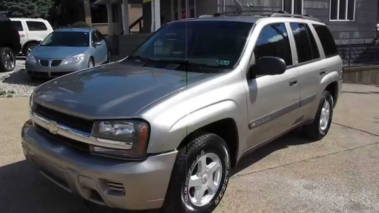 2003 chevrolet trailblazer ls 4x4 elite auto outlet bridgeport ohio youtube
