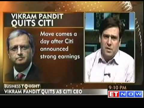Vikram Pandit quits as CEO of Citigroup