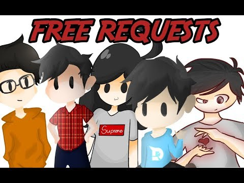 FREE ART REQUESTS FOR EVERYONE!!