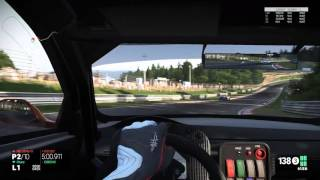High Quality 1080p PC Gameplay: Project Cars: Multiplayer GT3 race @Nordschleife