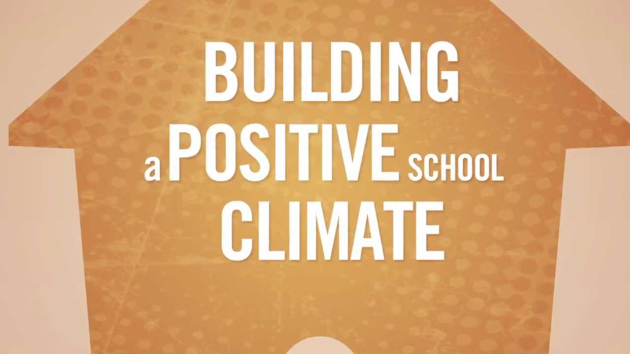 school climate School climate refers to aspects of the school environment that make students feel academically challenged, physically and emotionally safe, and valued and connected to their school settings.