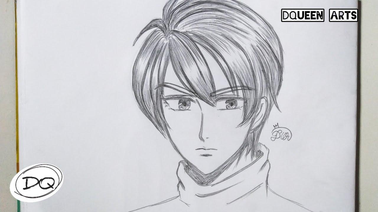 Cara Menggambar Anime Cowok Yang Ganteng How To Draw A Handsome Anime Boy Youtube