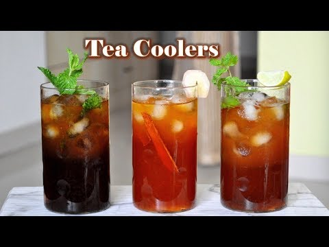 How To Make Summer Coolers With Tea | Iced Tea To Beat The Heat!