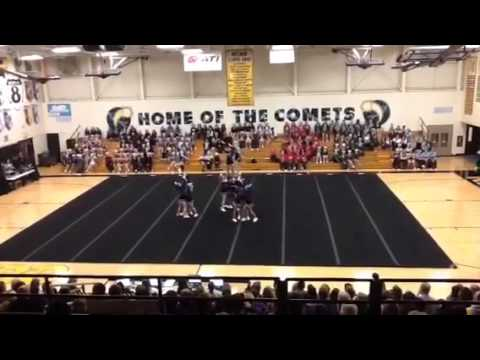 Peotone High School Cheerleading 2015 - Reed Custer