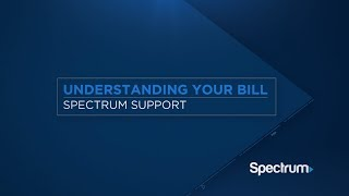 How-to video: Your Spectrum Bill