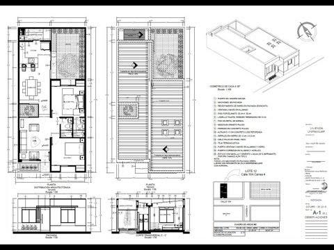 Planos de casas diegoalejandrop1988 for Casa minimalista 6x15