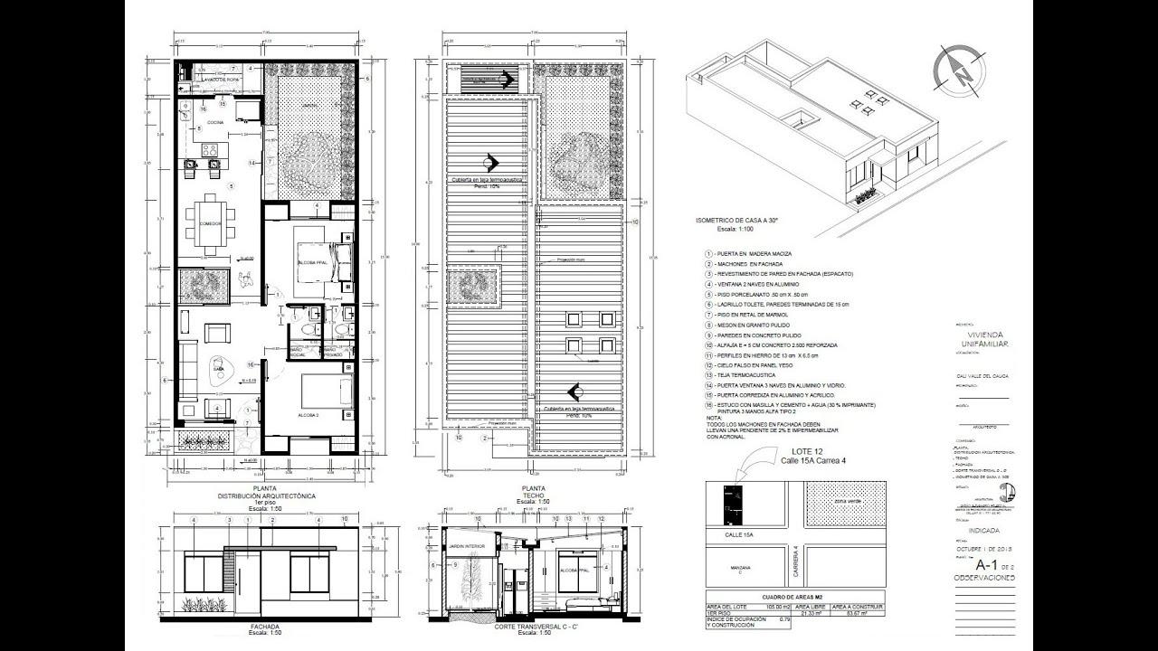 Planos de casas diegoalejandrop1988 youtube for Planos de casas de un piso gratis