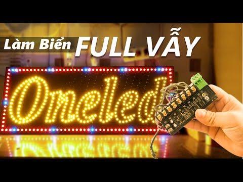 Làm biển LED quảng cáo với mạch Full Vẫy - Vậy Full Vẫy là gì ?