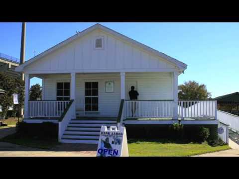 Hank Aaron Stadium, Childhood Home & Museum in Mobile, Alabama