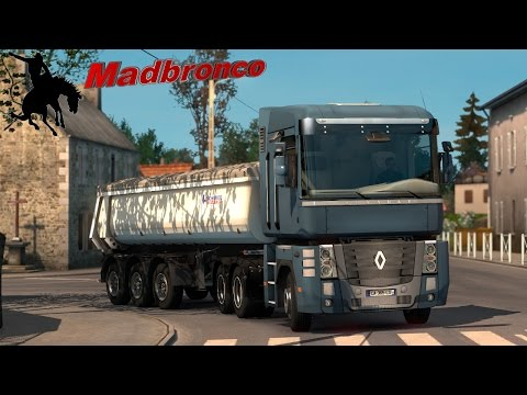 ets2 Driver for Hire ep67 - Limoges to Marseille (17t Stone Dust)