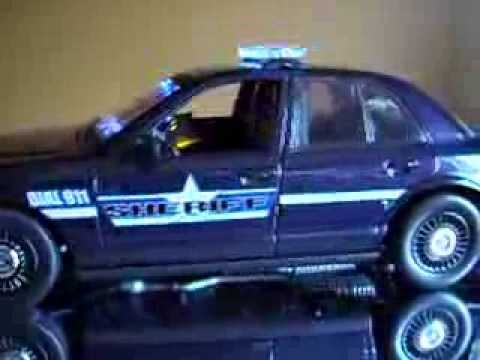 1 18 Scale Hummer H2 Undercover Police W Lights And 19