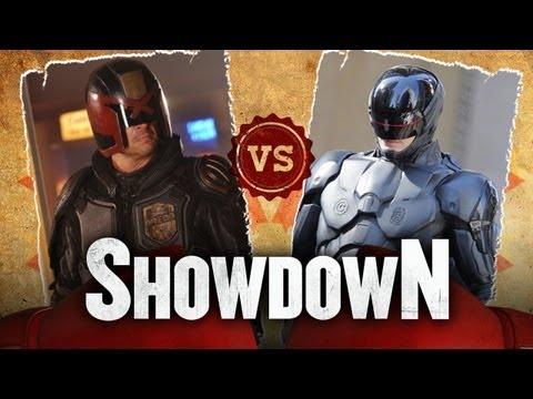 Judge Dredd vs. Robocop - Who Would Win In A Fight? Showdown HD