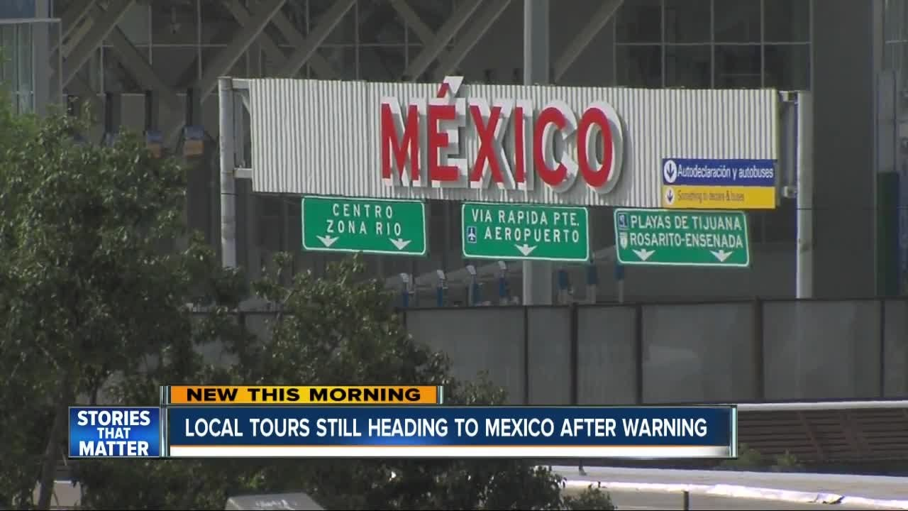 San Diego tour companies not worried about Mexico travel warning