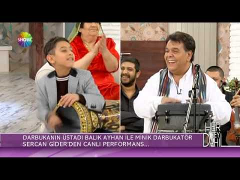Küçük Sercan ve Balık Ayhan darbuka şov | Her Şey Dahil Canlı Performans