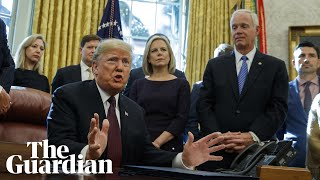 The US president says he has finished, but not submitted, answers f...
