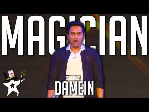 Card Magician Gets Golden Buzzer on Myanmar's Got Talent | Magicians Got Talent
