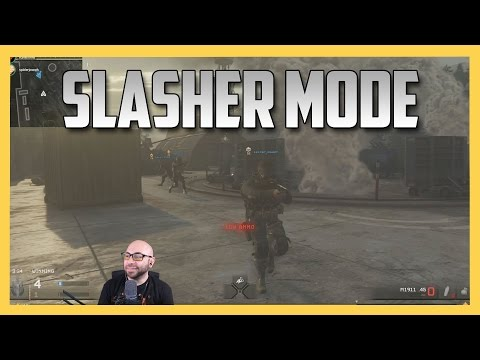 Slasher Mode in MWR #1! An Official Michael Myers in Call of Duty!