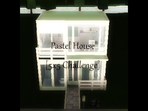 Roblox Welcome To Bloxburg Two Story Pastel House 5x5