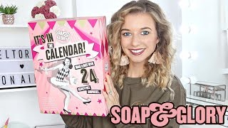 SOAP AND GLORY ADVENT CALENDAR 2018 | *DISAPPOINTING?*