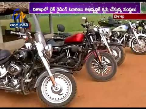 Bike Riders Showing Interest to Make Vizag as Tourism Destinations | A Report