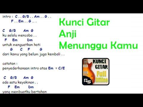 Chord Gitar Anji - Menunggu Kamu | By Chordfiz Aplikasi Kunci Gitar Offline