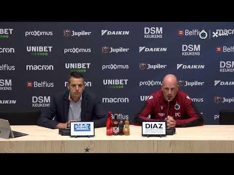 #ANTCLU   Phillipe Clement blikt vooruit naar de match Antwerp - Club Brugge   2019-2020