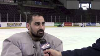 U.s. Paralympic Sled Hockey Team Skates With Colorado College