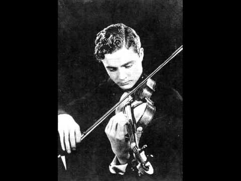 Violinist Heimo Haitto, Niccolo Paganini Theme from Le streghe (The Witches)