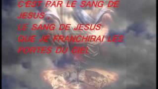 le sang de jesus