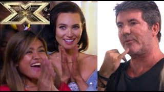 SIMON COWELL EXCITED TO MENTOR MARIA LAROCO AND THE GIRLS | THE XFACTOR 2018