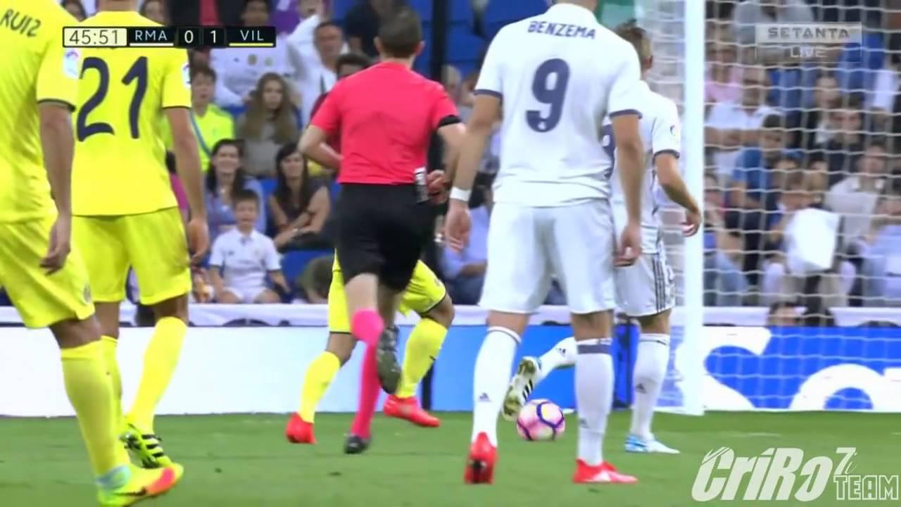 Download 27 Real Madrid vs Villarreal 1 1 All Goals & Full Highlights La Liga 21 09 2016 HD