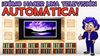CÓMO HACER UNA TV EN MINECRAFT SIN MODS ¡AUTOMÁTICA Y MODERNA!(Cómo hacer una televisión (tele) en Minecraft, automática sin mods y ¡que se enciende!. Aprende cómo hacer un televisor automático. TUTORIALES Y ..., 2015-05-08T18:00:00.000Z)