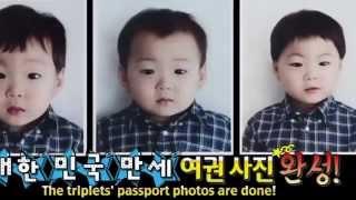 The First Daehan Minguk Manse Passport Photo 대한민국만세 2015 Song Triplet Superman