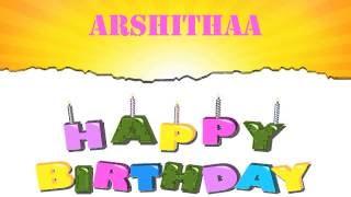 Arshithaa   Wishes & Mensajes - Happy Birthday