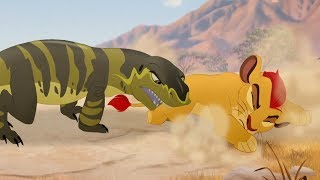 Lion Guard: Kenge's Attack | The Bite of Kenge HD Clip