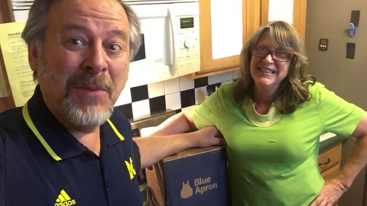 Blue apron unsubscribe mail - Unboxing Blue Apron In The Graffiti Kitchen