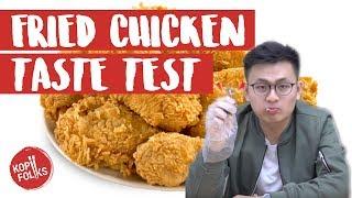 Video Korean Chicken Taste Test | KopiFolks download MP3, 3GP, MP4, WEBM, AVI, FLV November 2017