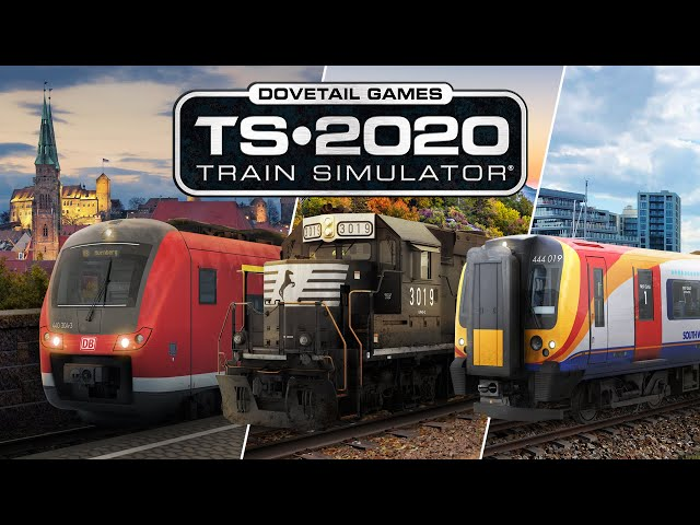 Train Simulator 2020 (видео)