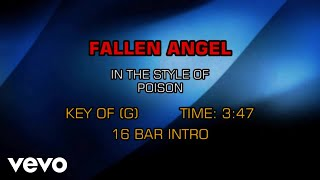 Poison - Fallen Angel (Karaoke)