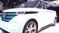 VW Budd-e - Minivan als Hoffnungsträger (CES 2016)