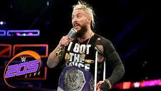 enzo amore doubles down on insulting the rest of his division wwe 205 live sept 26 2017
