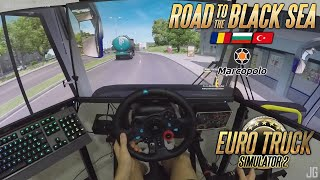 Euro Truck Simulator 2/ônibus Marcopolo G7/ 3 telas / Logitech G29/GoPro episódio 1
