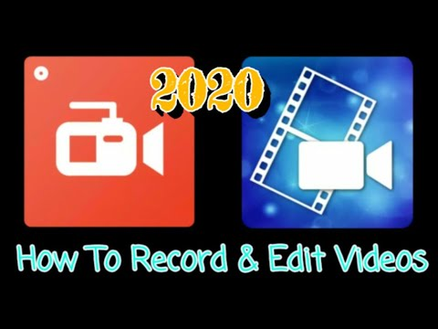 How To Screen Record & Edit Videos On Tablet/Android