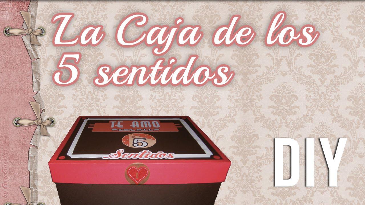 Caja De Los 5 Sentidos Regalo San Valentin Aniversario Vintage
