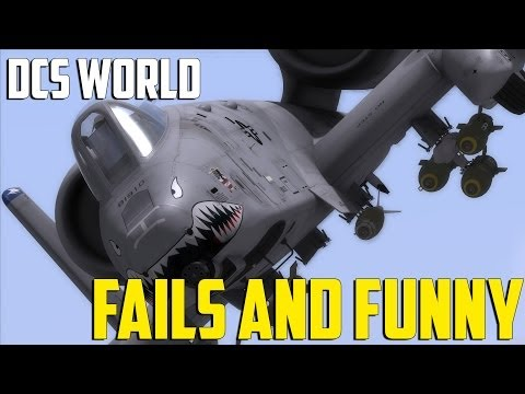 DCS World - Fails and Funny